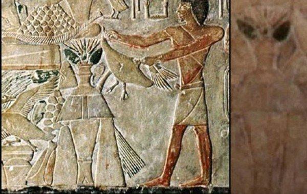 Египетская пиктограмма, 400 г. до н. э.