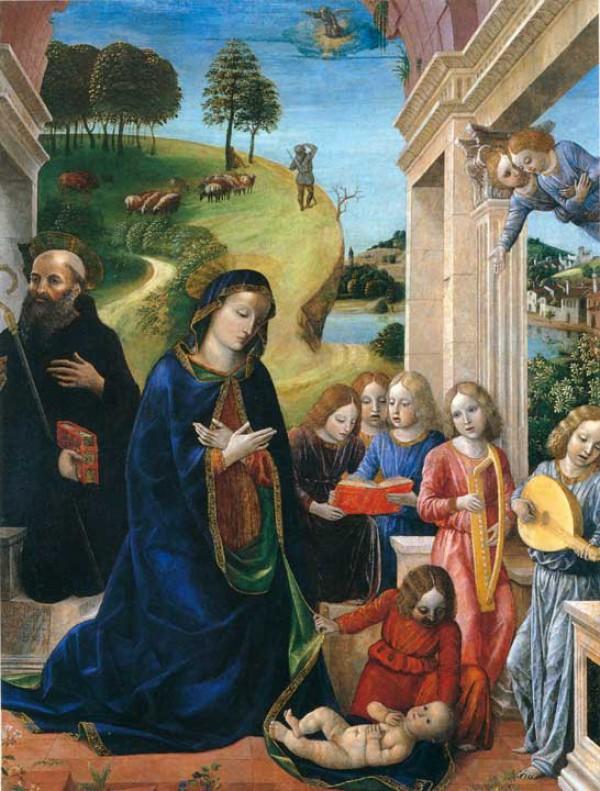 Foppa Adorazione, 1478 г