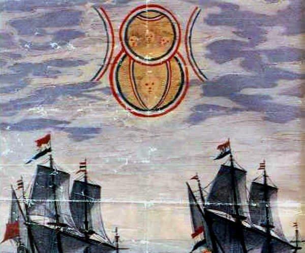 Тайна Над Двумя Голландскими Кораблями