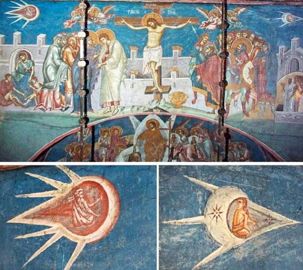 Распятие Христа, 1600 год