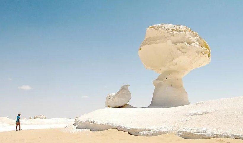 Белая пустыня (Сахара-Эль-Бейда)