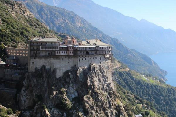 Афон, монастырь в Греции