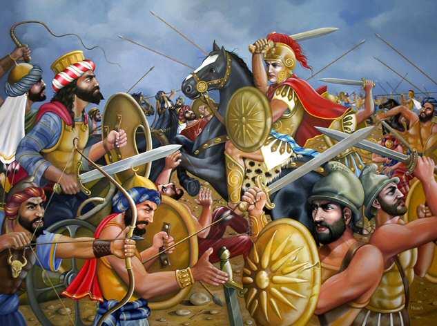 Битва у персидских ворот