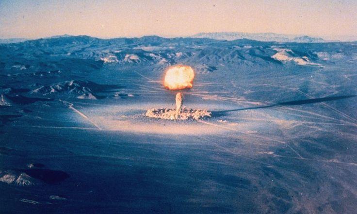 Великобритания провела испытания ядерной бомбы в 1952 году