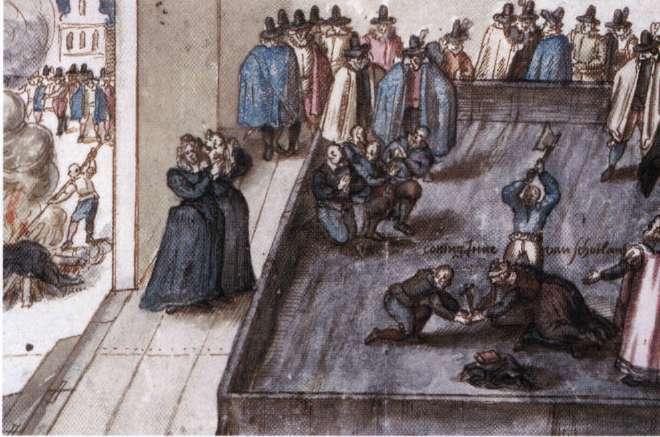 Во время правления Марии, королевы Шотландии, и ее сына Якова VI