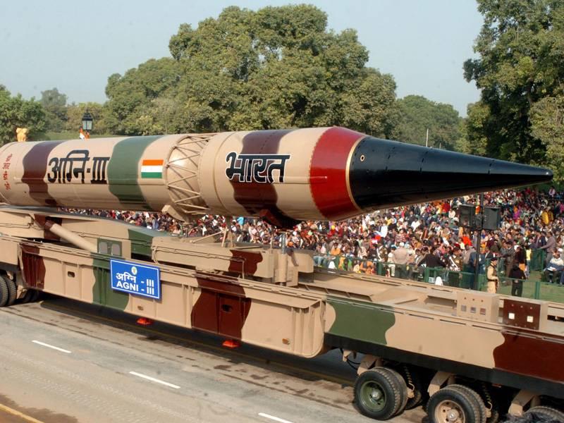 Индия ракеты