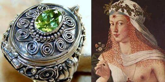 Лукреция Борджиа и кольцо