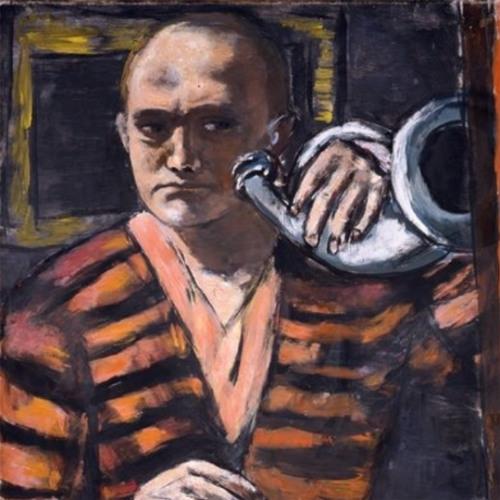 """Макс Бекман – """"Автопортрет с рогом"""", 1938-1940"""