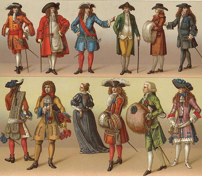 Массачусетс запретил людям носить причудливую одежду в 17 веке
