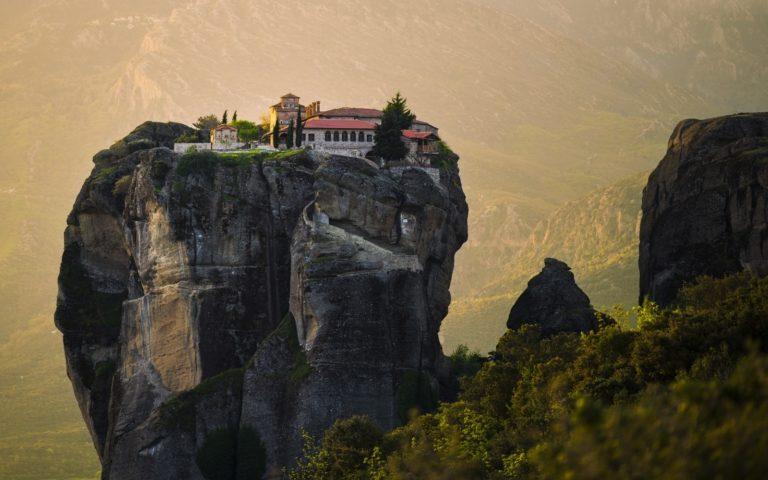 Метеора, монастырь в Греции