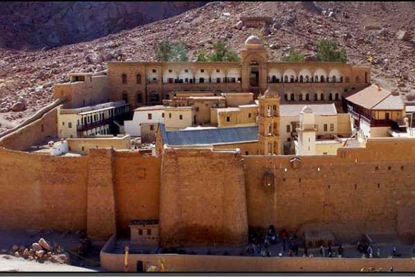 Монастырь Святой Екатерины, монастырь в Египте