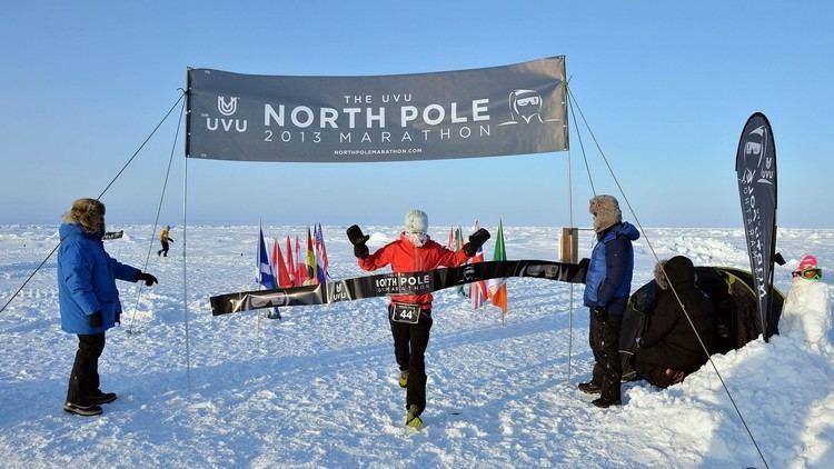 Ежегодный марафон На Северном полюсе