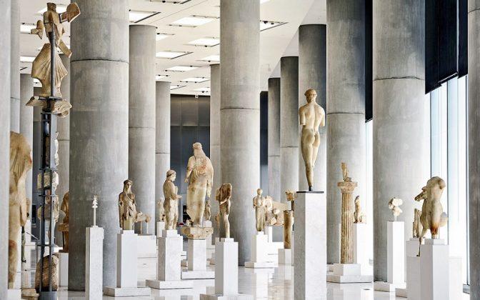 Новый музей Акрополя, Афины, Греция