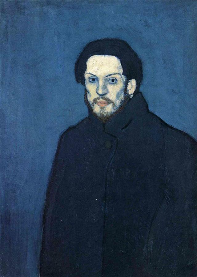 "Пабло Пикассо – ""Автопортрет"", 1901 год"