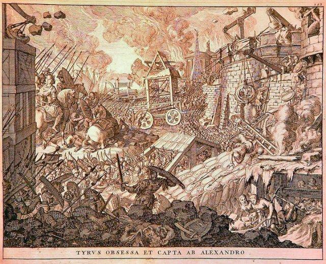 Падение Тира и Газы
