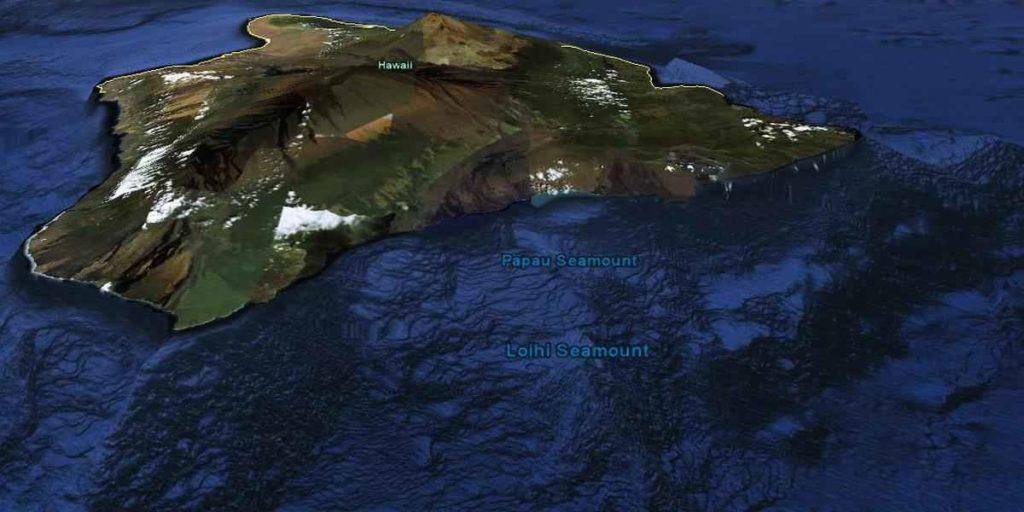 Подводный Вулкан Лоихи