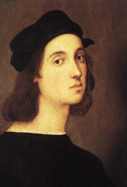 Рафаэль (Raffaello Sanzio da Urbino) – «Автопортрет», 1506