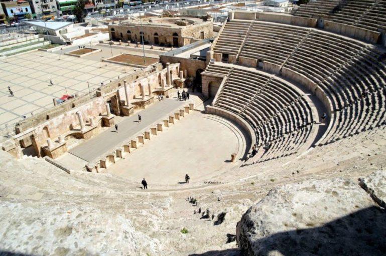 Римский театр Аммана, Иордания
