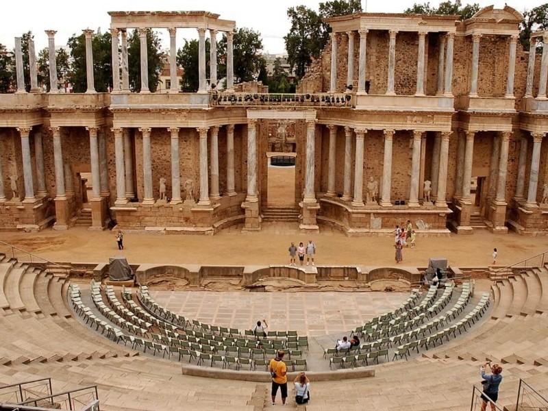 Римский театр Мериды, Испания
