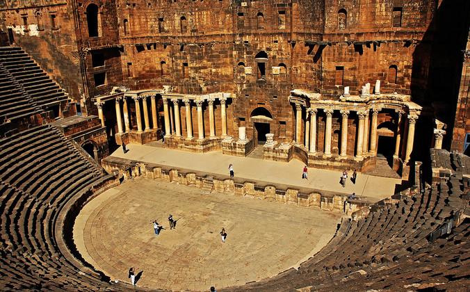 Римский театр в Босре, Сирия