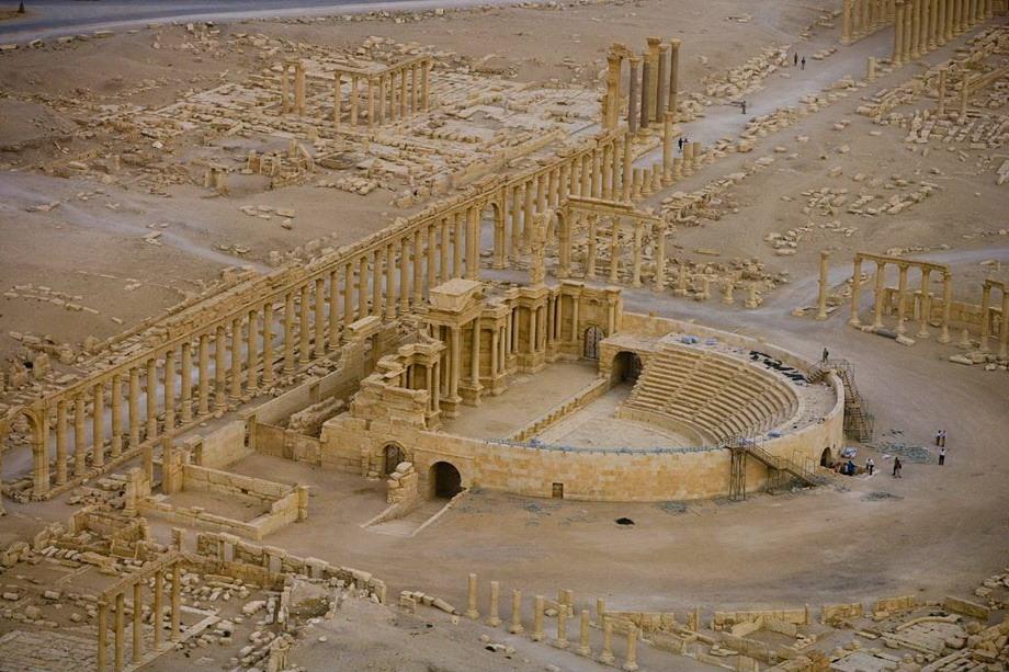 Римский театр в Пальмире, Сирия