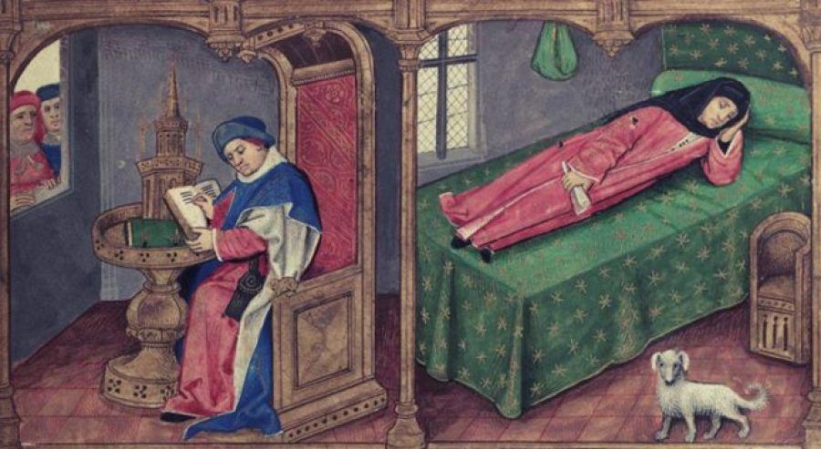 сон в средние века