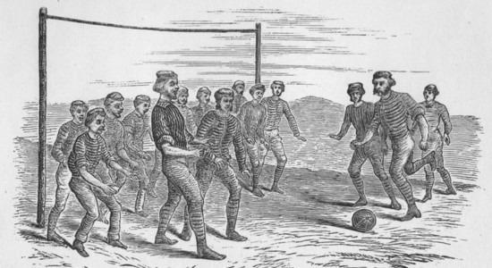 В 1440 году епископ Трегье запретил футбол