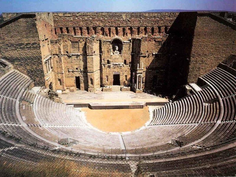 Античный Римский Театр в Оранже (Théâtre Antique d'Orange)