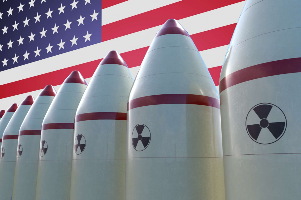 United States nuclear missile