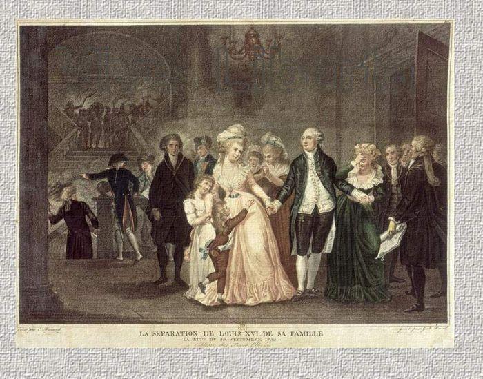 Арест Людовика XVI и его семьи в Варенне