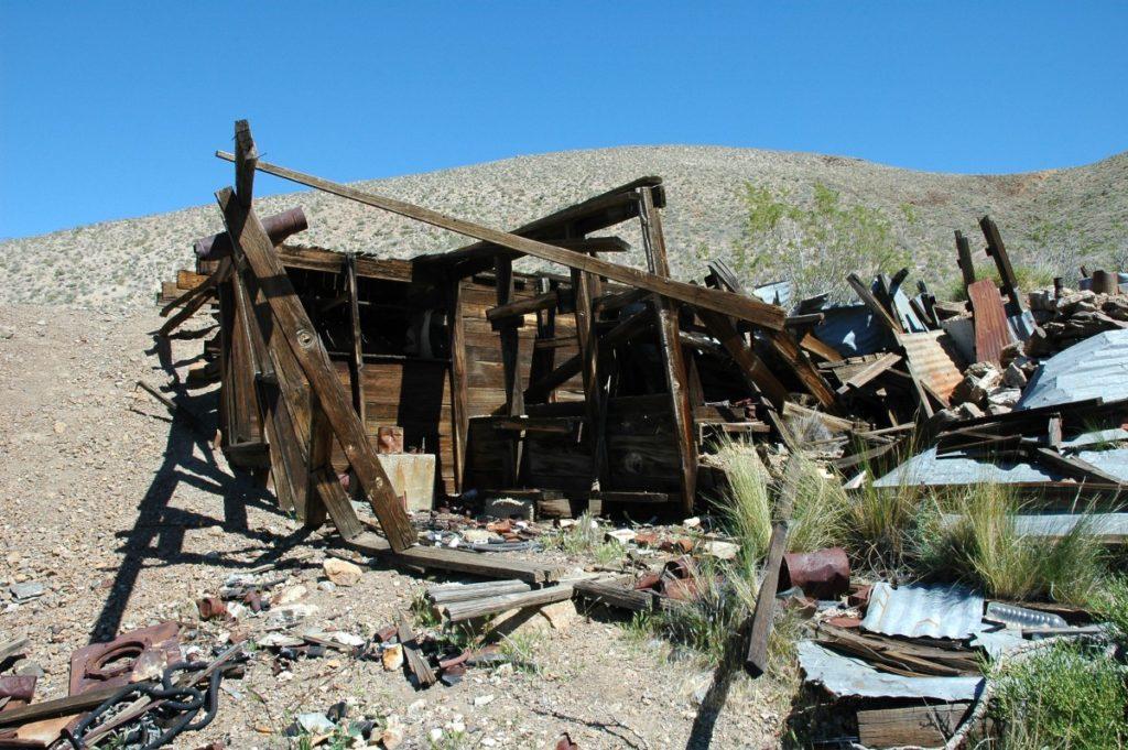 Заброшенные руины шахты Кин Уандер