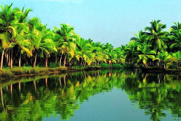 Керала - самое красивое место в Индии