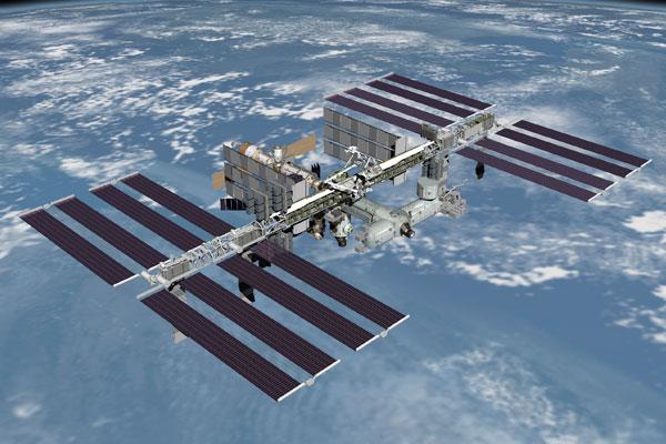 Международная космическая станция, (МКС)