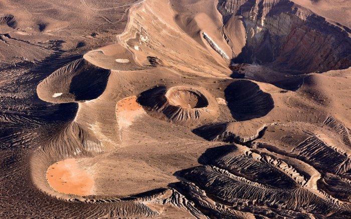 Древний вулкан