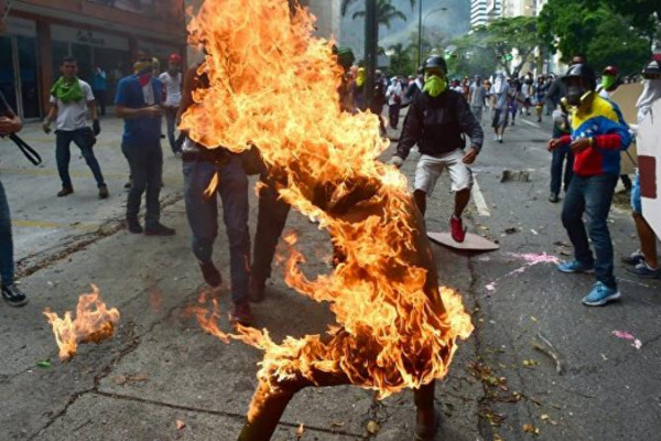 Самый высокий уровень убийств в мире в венесуэле