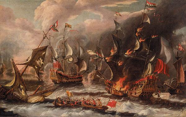 поражение в 1588 году испанской Армады