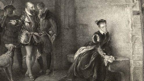 Елизавета 1 в тюрьме