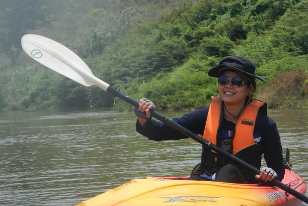 Прогулка на байдарках по реке Мэй Пин