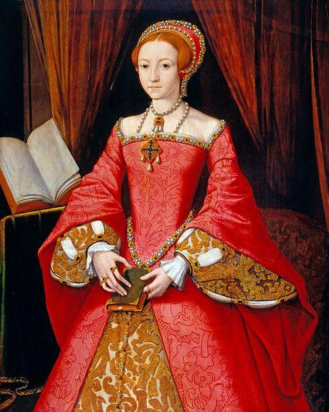 Елизавета 1 в молодости