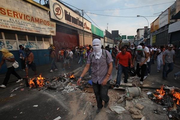 Массовые беспорядки в Венесуэле