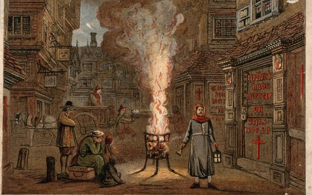 Великая чума Лондона