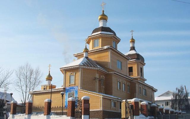 храм в Улан-Удэ