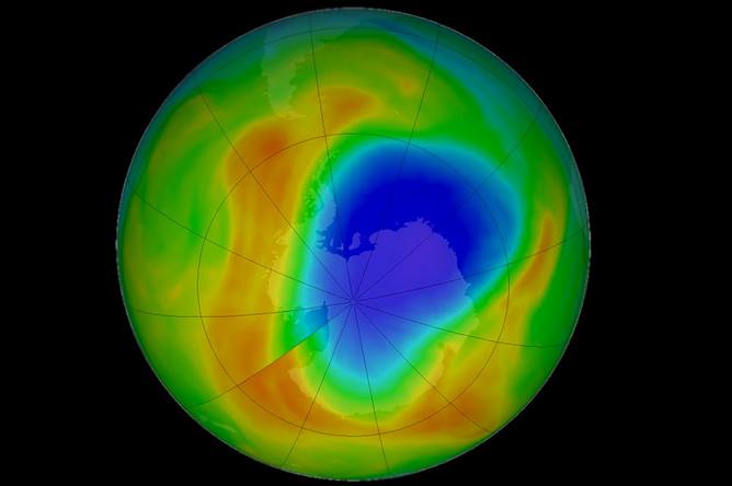 Загадка озонового слоя над Южным полюсом