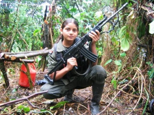 Дети солдаты в Колумбии