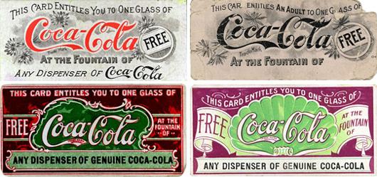 Coca-Cola создала первый купон