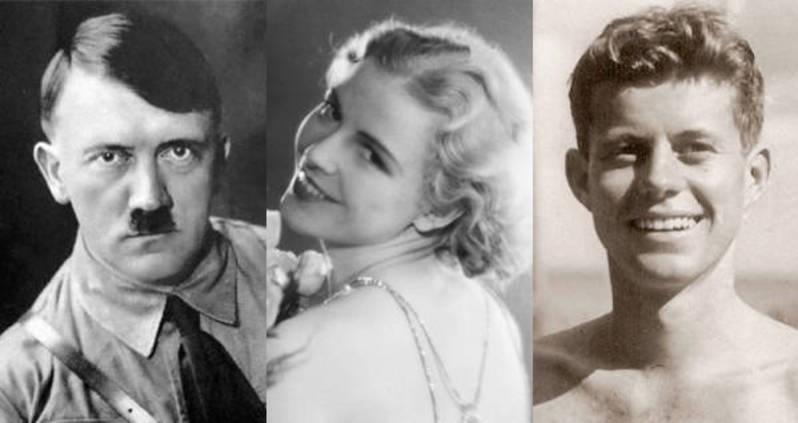 Одна из подружек Кеннеди была подружкой Гитлера