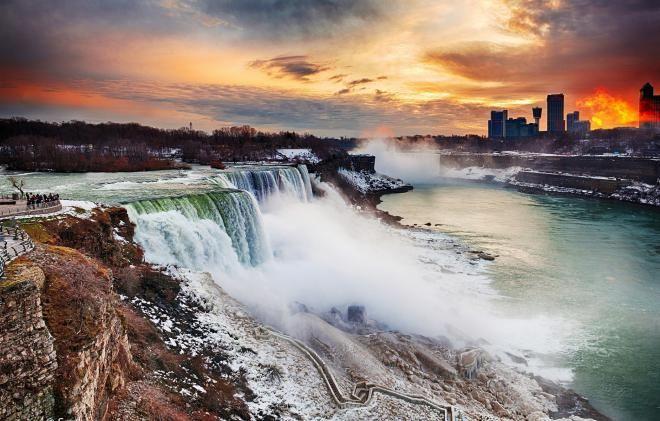 Ниагарский водопад, Нью-Йорк, США