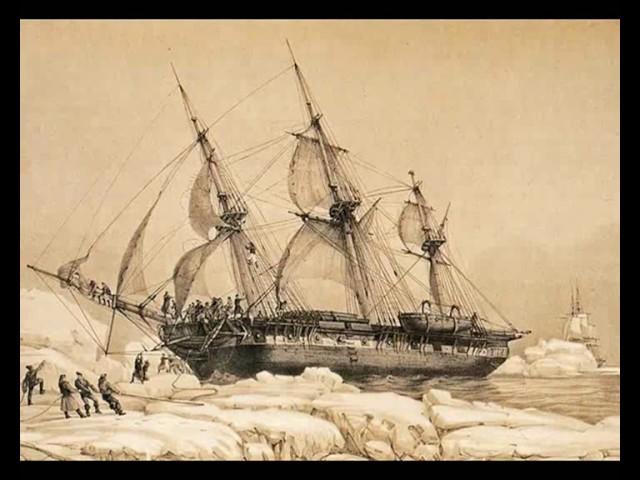 Южный полюс был открыт в 1820 году