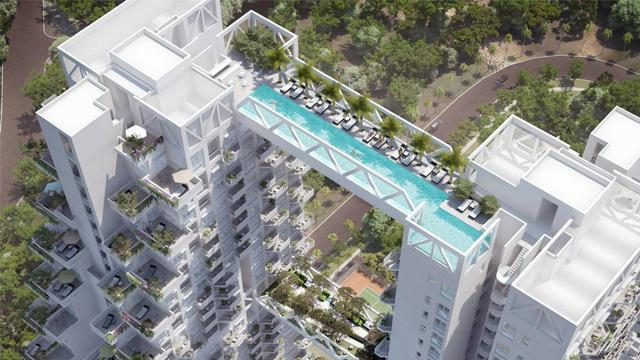 Swimmable Sky Bridge - Sky Habitat