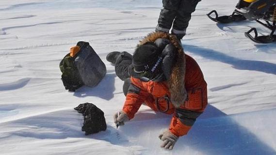 Антарктида – лучшее место для поиска метеоритов